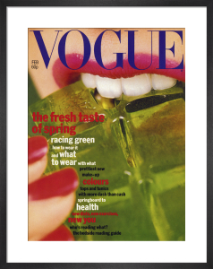 Vogue February 1977 by Willie Christie