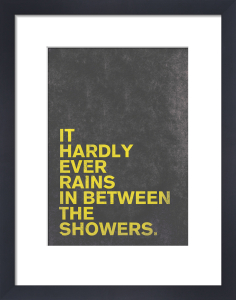 It Hardly Ever Rains by Nick Cranston