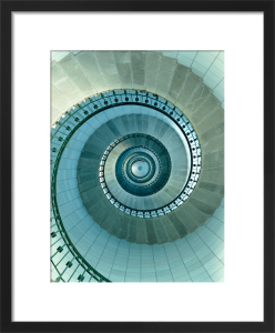 Lighthouse staircase I by Jean Guichard