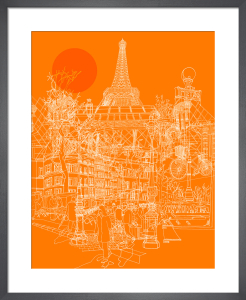Paris Tango by David Bushell