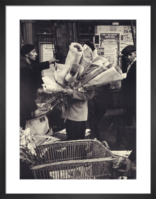 Le Figaro, 1989 by Thurston Hopkins