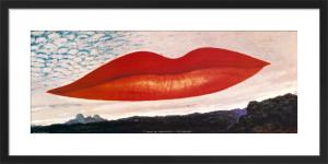 A L'Heure de L'Observatoire - Les Amoureux, 1932-34 by Man Ray