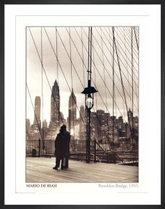 Brooklyn Bridge, 1955 by Mario De Biasi