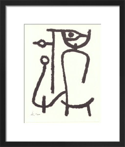 Lady Apart, 1940 by Paul Klee