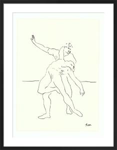 Danseur et Danseuse, 1925 by Pablo Picasso