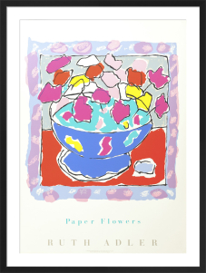 Paper Flowers by Ruth Adler