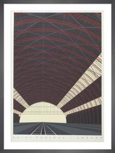 Saint Pancras, London by Neil Gower