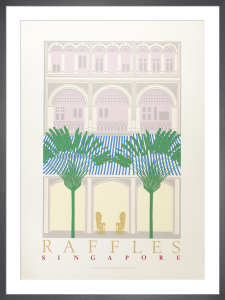 Raffles, Singapore by Perry King