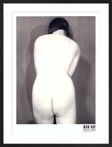 Nude, Paris 1928 by Man Ray