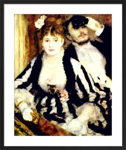 La Loge, 1874 by Pierre Auguste Renoir