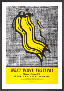 Next Wave Festival, 1983 by Roy Lichtenstein