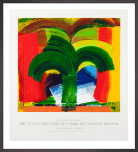In Tangier, 1987-90 by Sir Howard Hodgkin