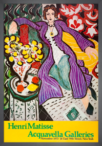 Woman in a Purple Robe by Henri Matisse