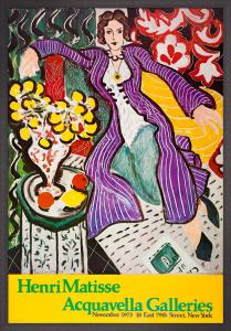 Woman in a Purple Robe by Henri Matisse