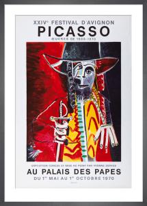 XXIV Festival d'Avignon, 1970 by Pablo Picasso