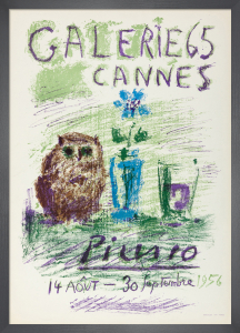 Hibou, Verre et Fleur, 1956 by Pablo Picasso