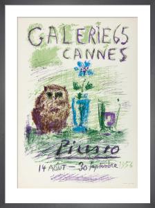 Le Hibou, le Verre et la Fleur by Pablo Picasso