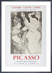 156 Gravures Recentes by Pablo Picasso