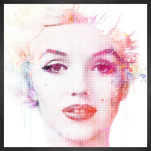 Watercolour Marilyn by VeeBee