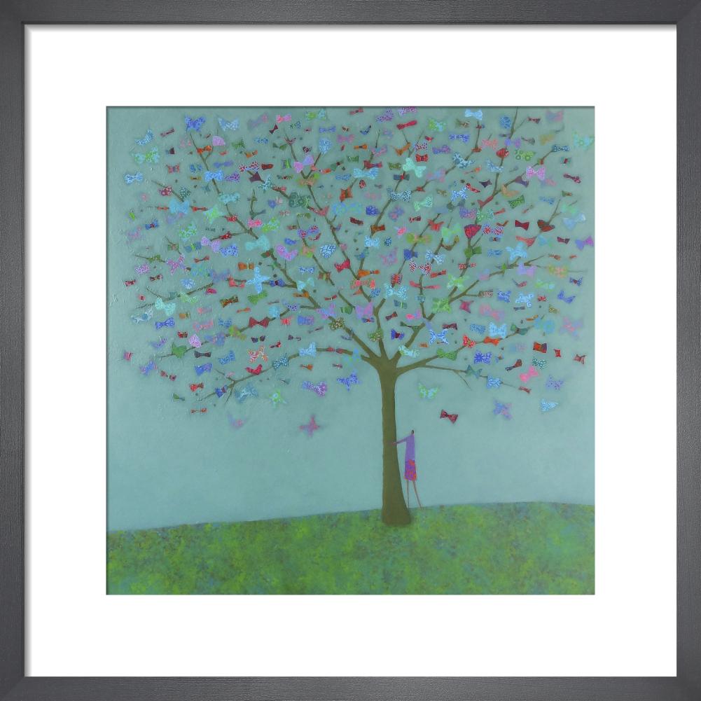 7364a034938 Magic Tree Art Print by Emma Brownjohn