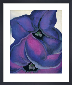 Purple Petunias, 1925 by Georgia O'Keeffe