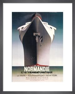 Normandie, 1935 by A.M. Cassandre