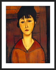 Tete de Jeune Fille by Amedeo Modigliani