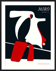 Pochoir, 1934 by Joan Miro