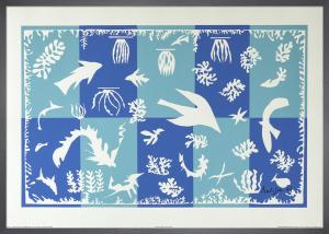 Polynesie, La Mer, 1946 by Henri Matisse