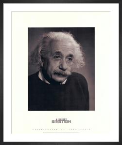 Albert Einstein by Fred Stein