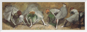 Frieze of Dancers c.1895 by Edgar Degas