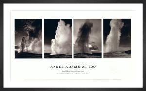Old Faithful Geyser, 1942 by Ansel Adams