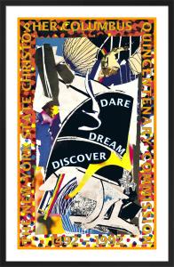 Dare, Dream, Discover by Frank Stella