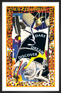 Dare, Dream, Discover by Frank Stella