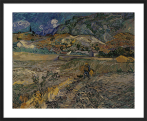 Landscape at St Remy by Vincent Van Gogh