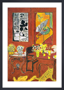 Large Red Interior by Henri Matisse