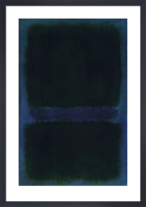 untitled mark rothko framed art print