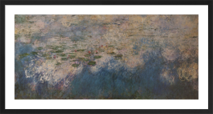 Water Lilies (Panel 2 of Triptych, c.1920) by Claude Monet