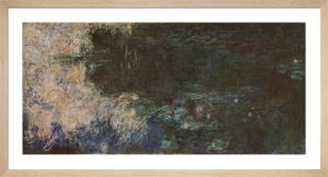 Water Lilies (Panel 3 of Triptych, c.1920) by Claude Monet