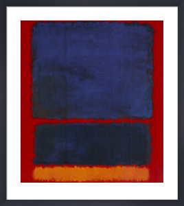 Blue, Orange, Red: 1961 by Mark Rothko
