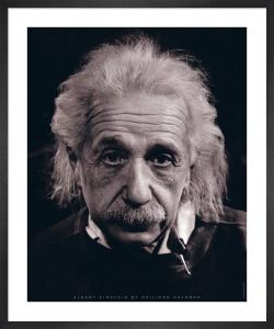 Albert Einstein by Philippe Halsman