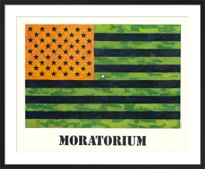 Moratorium, 1969 by Jasper Johns