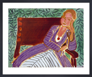 Jeune Fille Assise, Robe Persane, 1942 by Henri Matisse