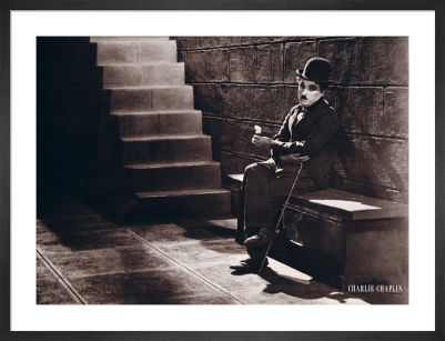 Charlie Chaplin - City Lights, 1931 by Anonymous