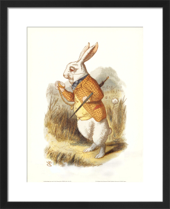 The White Rabbit, 1890 by Sir John Tenniel