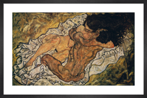 Embrace (Lovers II), 1917 by Egon Schiele