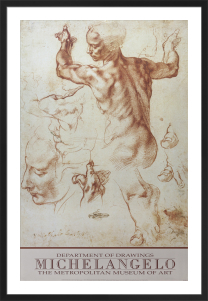 Studies for the Libyan Sibyl by Michelangelo