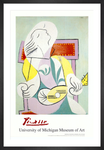 Young Woman with Mandolin, 1932 by Pablo Picasso