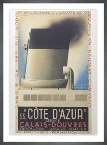 Cote D'Azur, 1931 by A.M. Cassandre