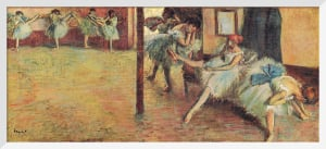 La Salle de Danse, c.1891 by Edgar Degas